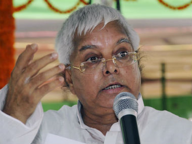 Jharkhand HC rejects Lalu Prasad Yadav's bail extension plea in fodder scam case, orders him to surrender by 30 Aug